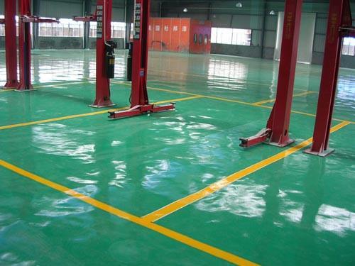 地坪漆正确的施工流程