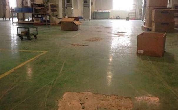 旧地坪漆除膜