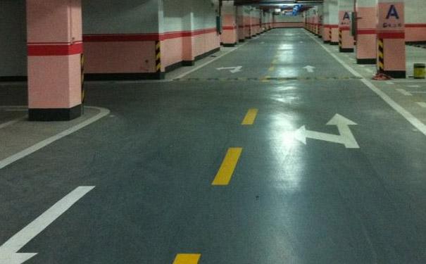 停车场地坪漆施工方案